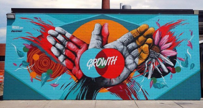 Mural Image Growth By Houseofmeggs Phocred1X Run