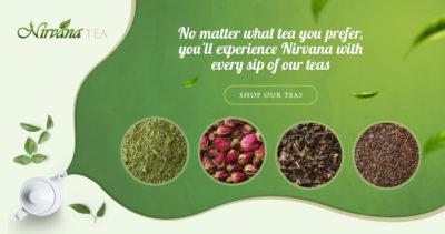 Nirvana Tea Banner